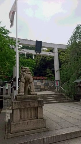 乃木神社 入口