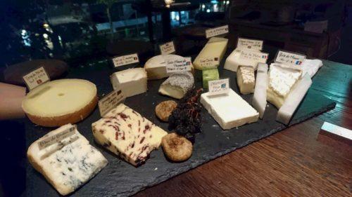 チーズをチョイス